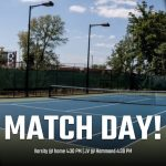 Match Day for Men's Tennis Against Hammond