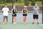 Photo Gallery: Women's Tennis Senior Recognition 9-8-2020