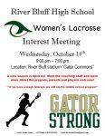 Women's Lacrosse Interest Meeting Announced