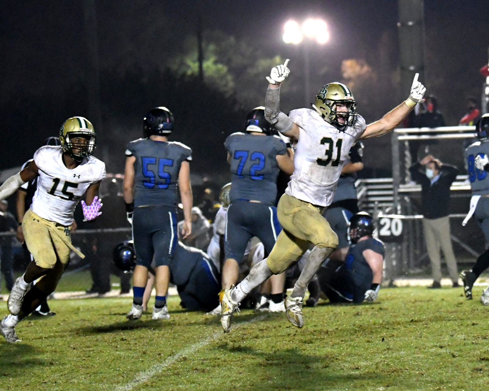 Photo Gallery: Football vs Ft. Dorchester in Rd. 1 of Playoffs