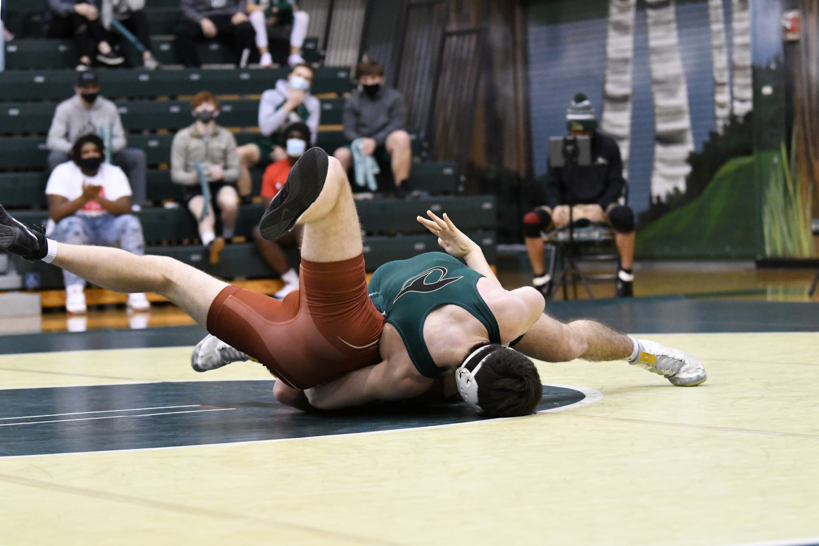 Photo Gallery: Wrestling vs Ashley Ridge in Playoffs 2-13-21 (Part 2)