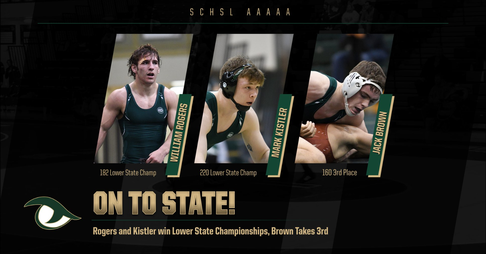Three Gator Wrestlers Punch Ticket to State Championship; Two as Lower State Champions