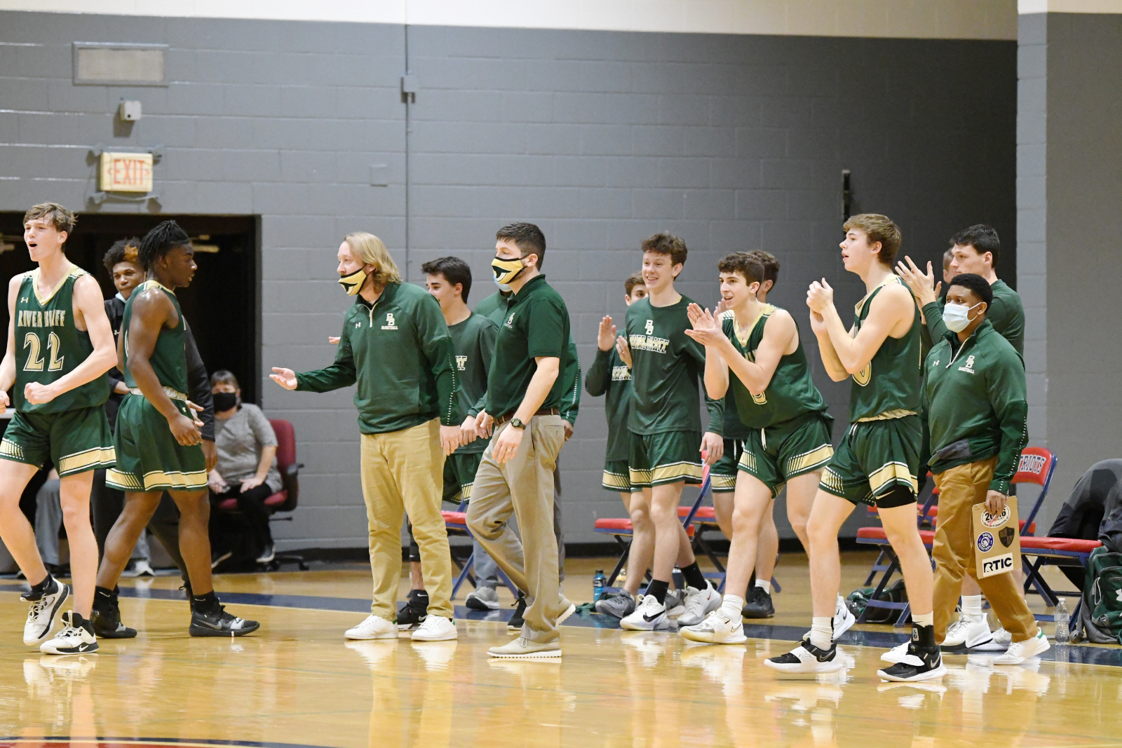 Photo Gallery: Men's Varsity Basketball 2020-21 Playoff Run – Round 2 vs Carolina Forest