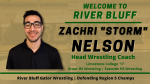 "Gators Welcome Zachri ""Storm"" Nelson as New Head Wrestling Coach"