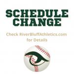 New Weather Update: Tonight's Varsity Baseball Game vs Dutch Fork Canceled