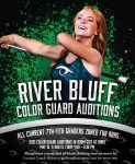 RBHS Colorguard Auditions Next Week. Info Here…