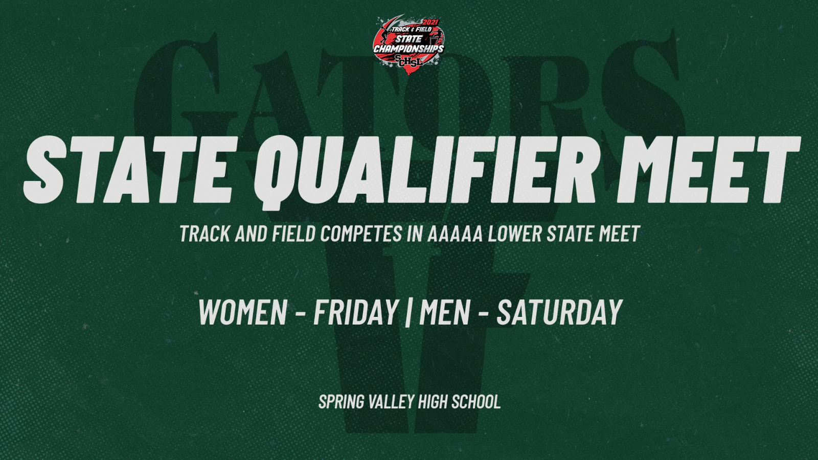 AAAAA State Qualifiers for Gator Track and Field Start Today!
