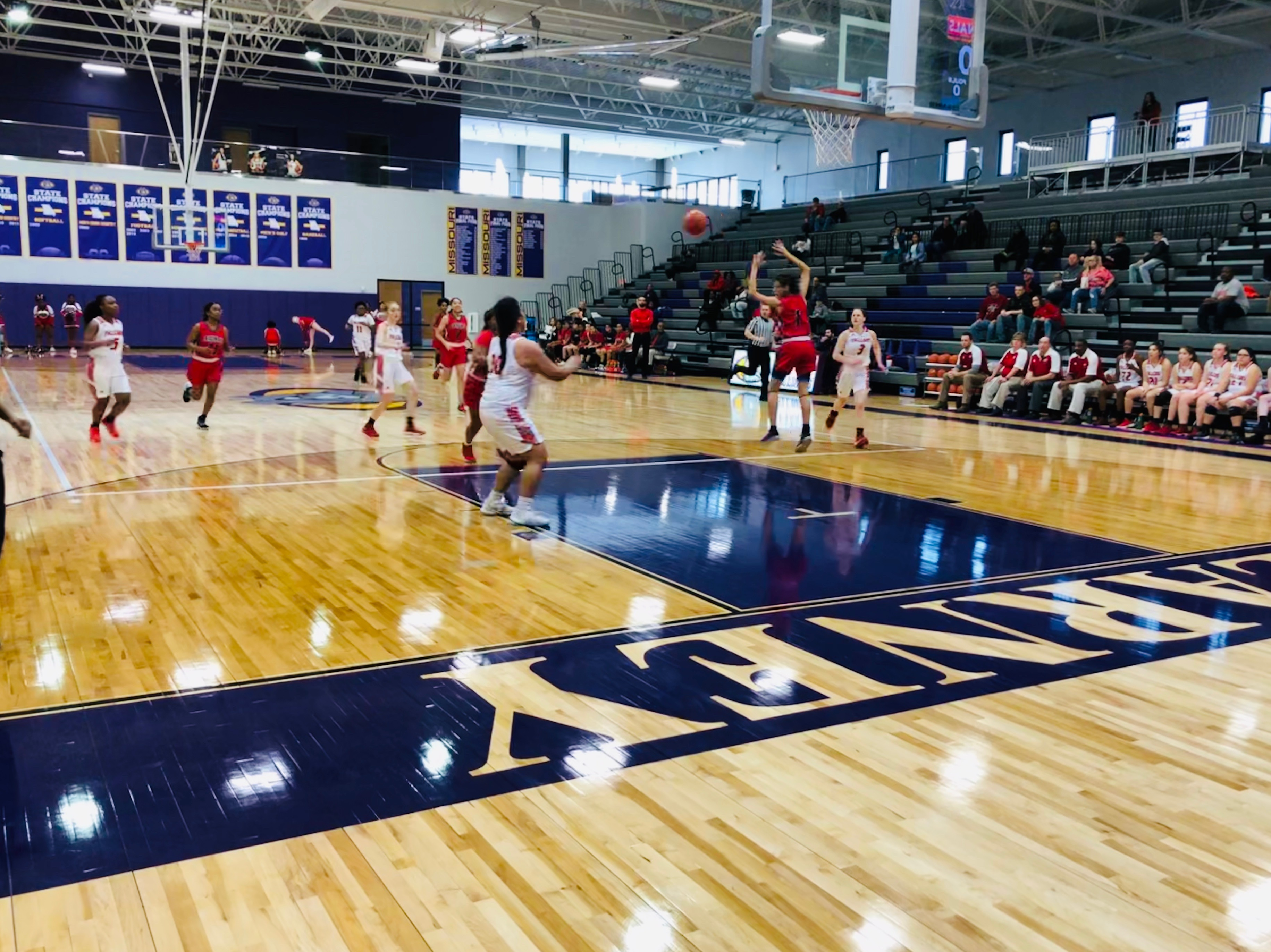Lady Falcs End Season to Raytown South, 34-61