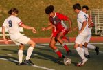 Falcs Take Conference Lead, Defeat KCC 4-0