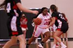 Girls Varsity Basketball falls to Bishop Ward 54 – 34