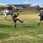 Boy's Soccer team beats Virgin Valley