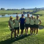 Girls Varsity Golf finishes 1st place at League Match