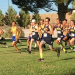 Boys Varsity Cross Country finishes 4th place at Moapa Valley Weekday