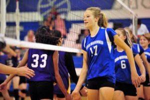 MS Volleyball Dominates Ellicott 2-0