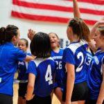 Girls MS Volleyball Falls Short vs. Vanguard 1 – 2
