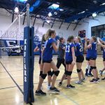 Great Teamwork Pays Off for MS Volleyball vs. CSCS