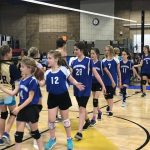 5/6 Grade Volleyball Learning Fundamentals of Game