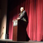 NBA Legend, Rick Barry, Addresses CSS Students