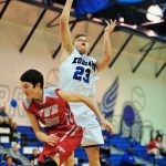 Boys Varsity Basketball beats Fountain Valley School 37 – 30