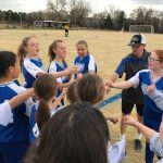 Girls MS Soccer Ends Season with Loss to Manitou
