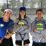 Girls Tennis Starts Season Strong:  Beats St. Mary's 5-2