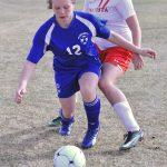 Girls' US Soccer:  Big Win Against Ellicott 10-0