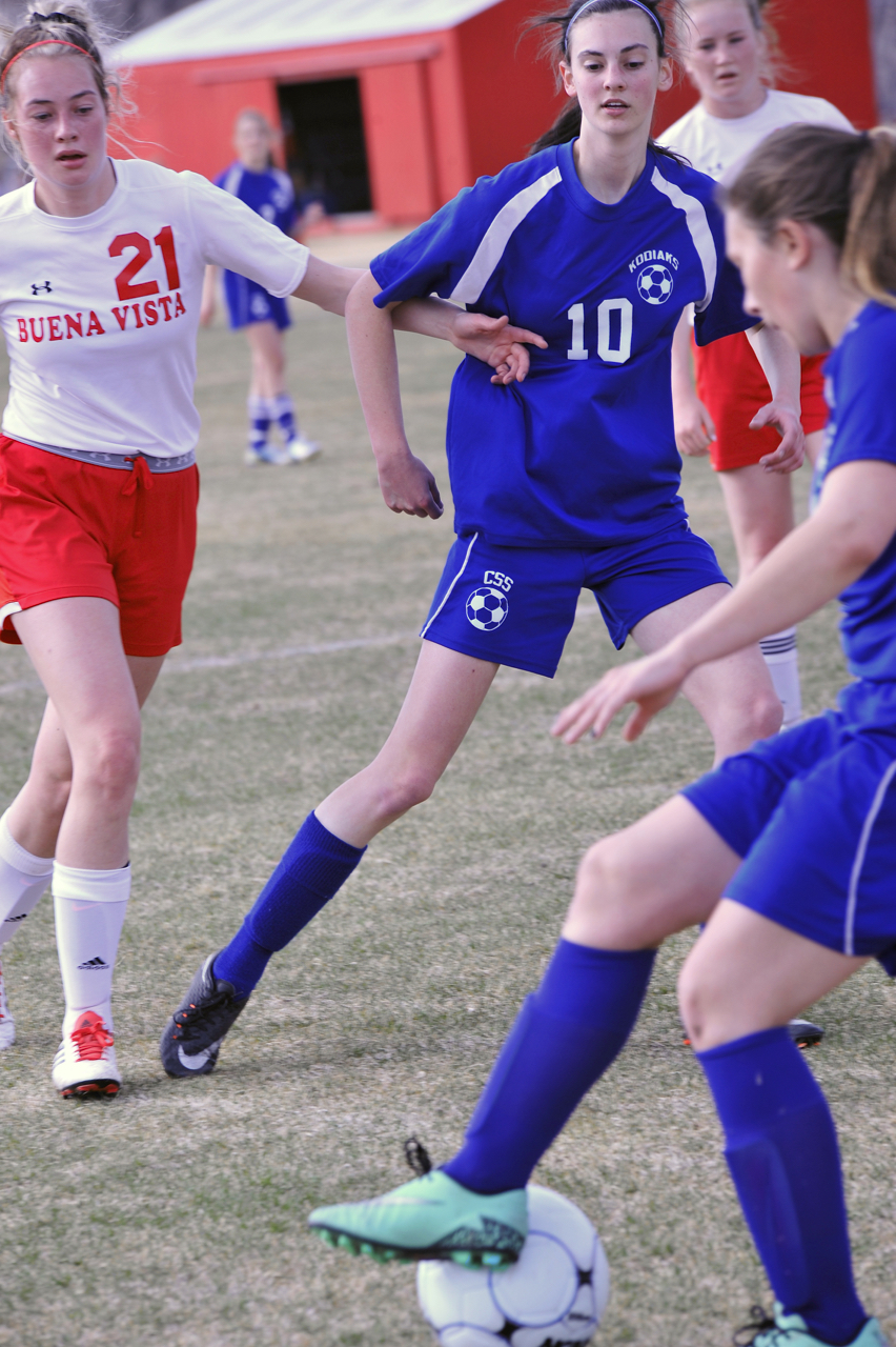 Girls' US Soccer:  Finding Their Groove
