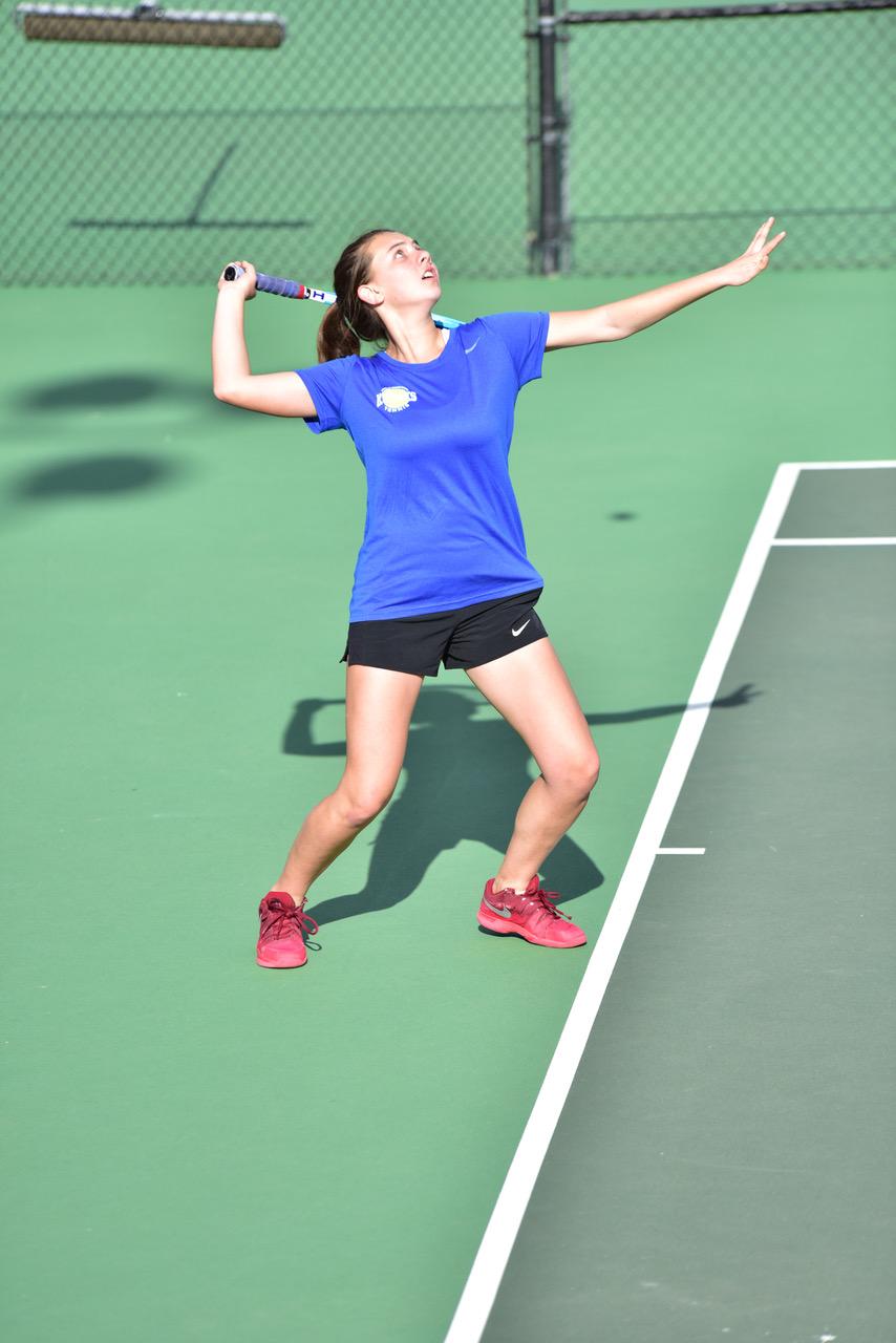 Five Kodiaks Named Tennis All-Stars for The Gazette
