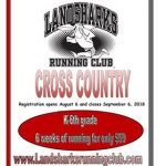 Landsharks XC: Registration Ends on Sept. 6