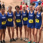 Girls' XC Finishes 17th at State 2A Meet