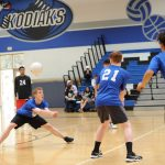 Boys' Volleyball Falls to St. Mary's H.S.
