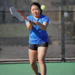 Girls Tennis Squeaks by Widefield 4-3