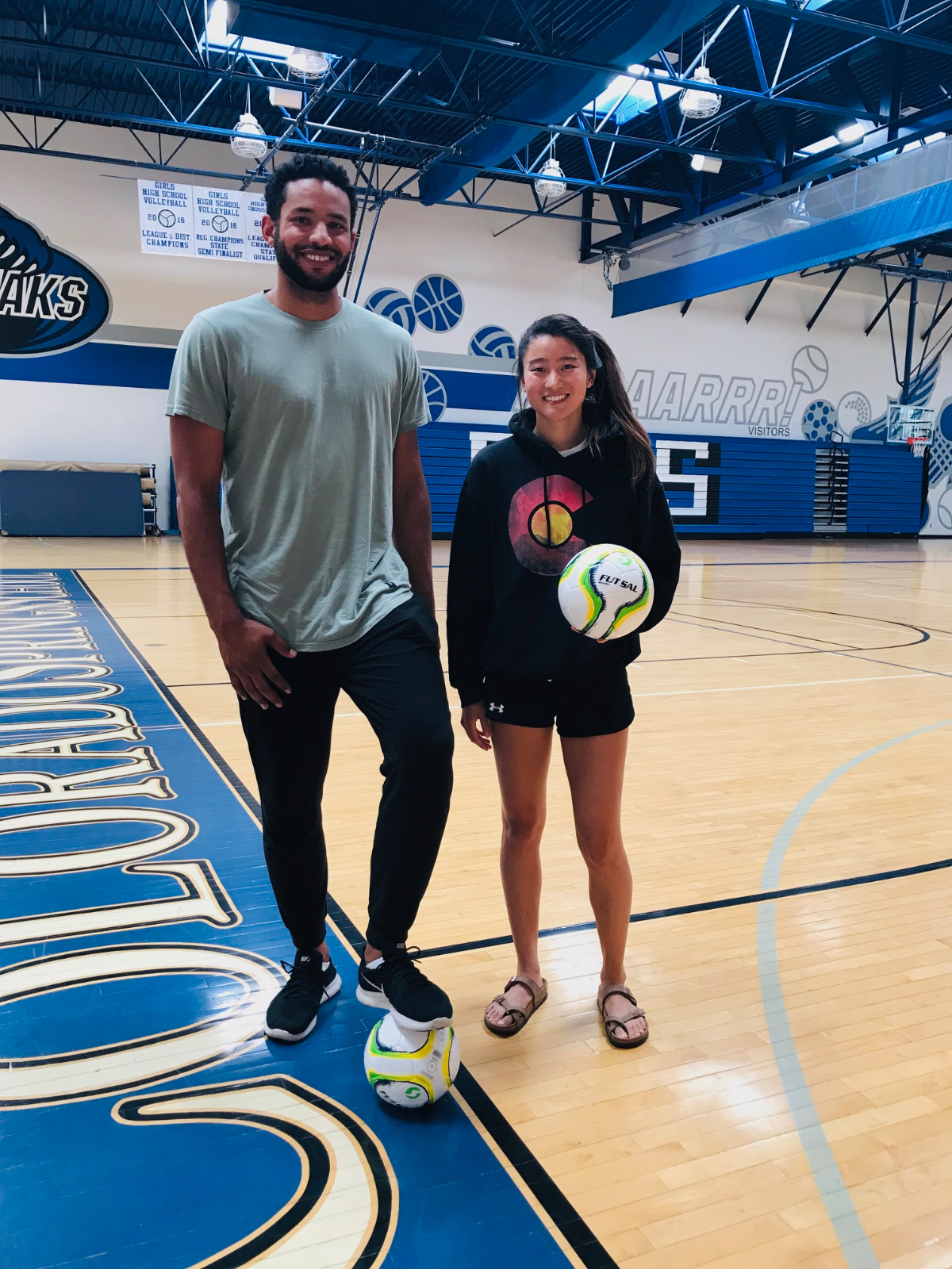 Alums Return to Coach CSS Soccer