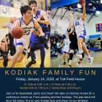 Family Fun Night on Friday in Tutt Field House