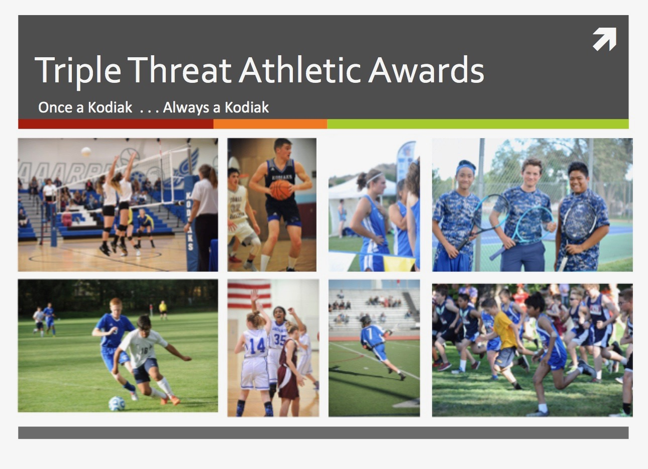 Triple Threat Athletic Awards Announced