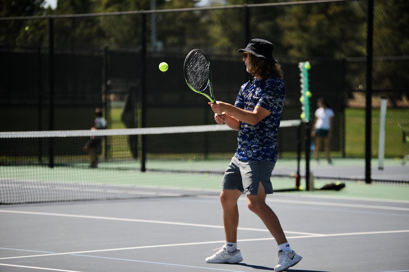 Boys' Tennis Squeaks Past Pueblo County 4-3