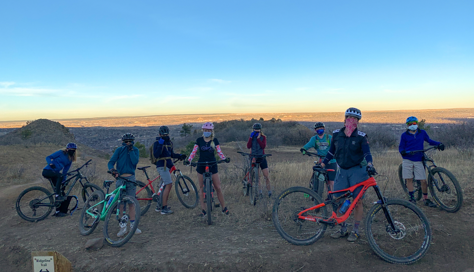 "Mountain Bike Team ""Chutes"" for New Riding Experiences"