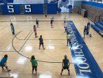 MS Volleyball Opens Season at Hanover