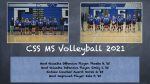 """MS Volleyball """"Puts It All Together"""""""