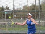 Girls Varsity Tennis beats Aurora Central 4 – 3