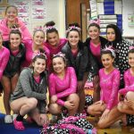 Girls Varsity Gymnastics finishes 1st place at Tri Meet with Vasser and Cass City