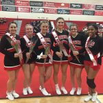 Girls Varsity Competitive Cheer finishes 6th place at FML Meet #2 – Linden