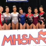 Girls Varsity Gymnastics finishes 10th place at State Finals