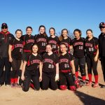 Girls 8th Grade Softball beats Clio Middle School 12 – 1