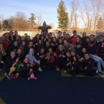 Girls Varsity Track finishes 3rd place at Chelsea Relays