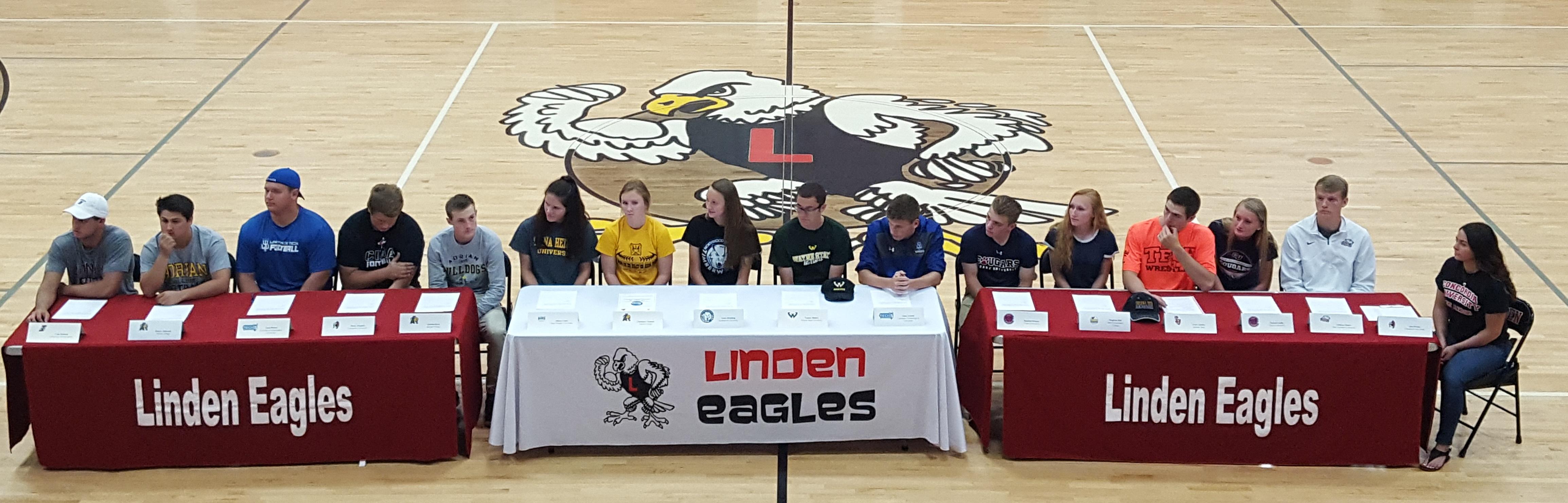 Linden Eagles 2018 Signing Day!!