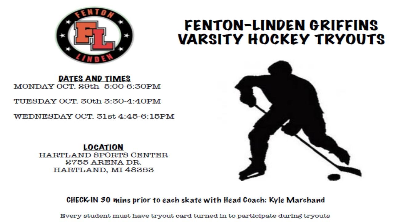 Fenton-Linden Hockey Team Tryouts
