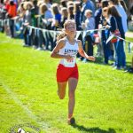 Melanea Strauss and Zoe Brown race excellent at the MHSAA State Finals