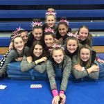 Girls Varsity Gymnastics finishes 9th place at Jeanne Carruss Invite – A