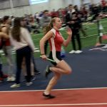 Girls Varsity Track opens season at SVSU Indoor Invitational